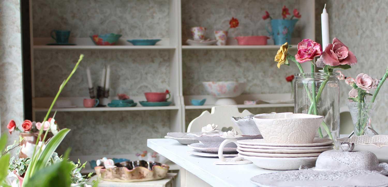 Keramik Laden von Lubadesign mit Keramikartikeln